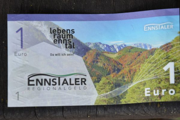 """Regionalwährung """"Ennstaler"""""""