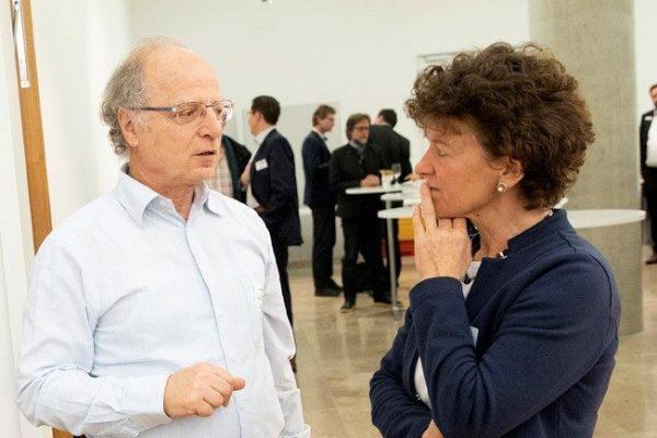 Andreas Marx im Gespräch mit Frau Engelhard