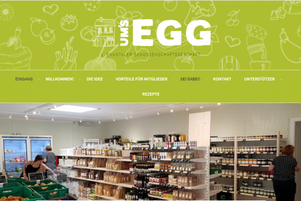 """Ennstäler Genossenschaftsgeschäft """"Ums Egg"""""""